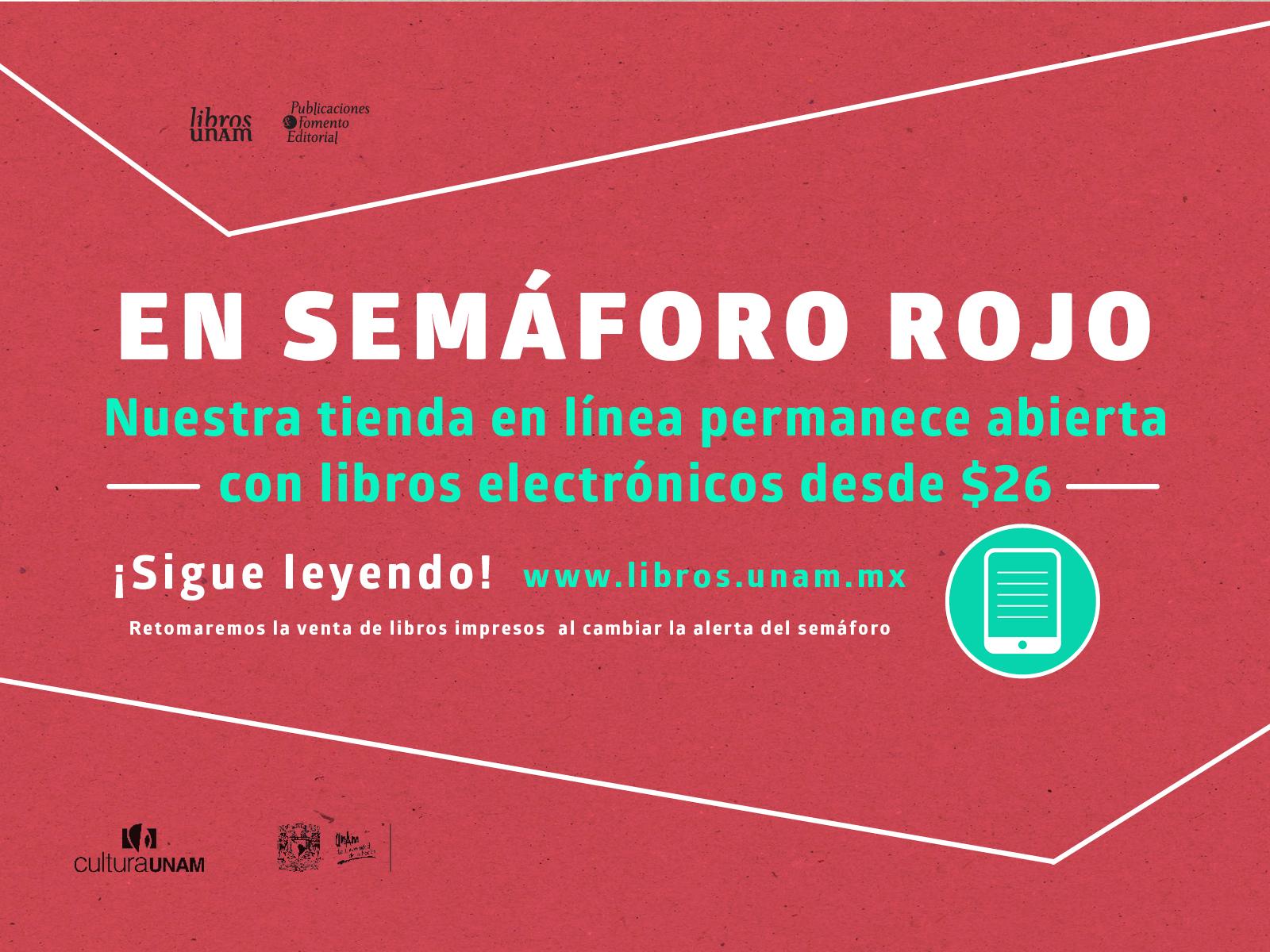 Libros UNAM durante semáforo rojo, tienda en línea