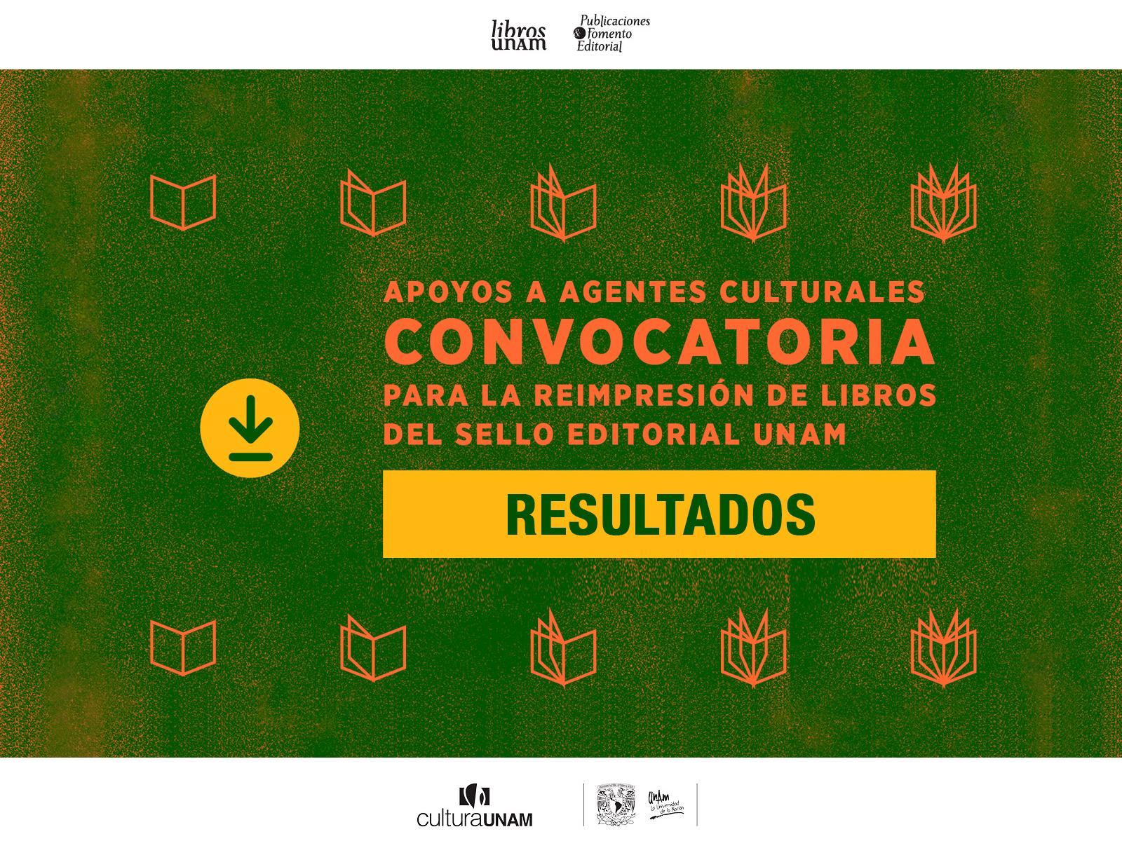 Resultados de la Convocatoria de reimpresión