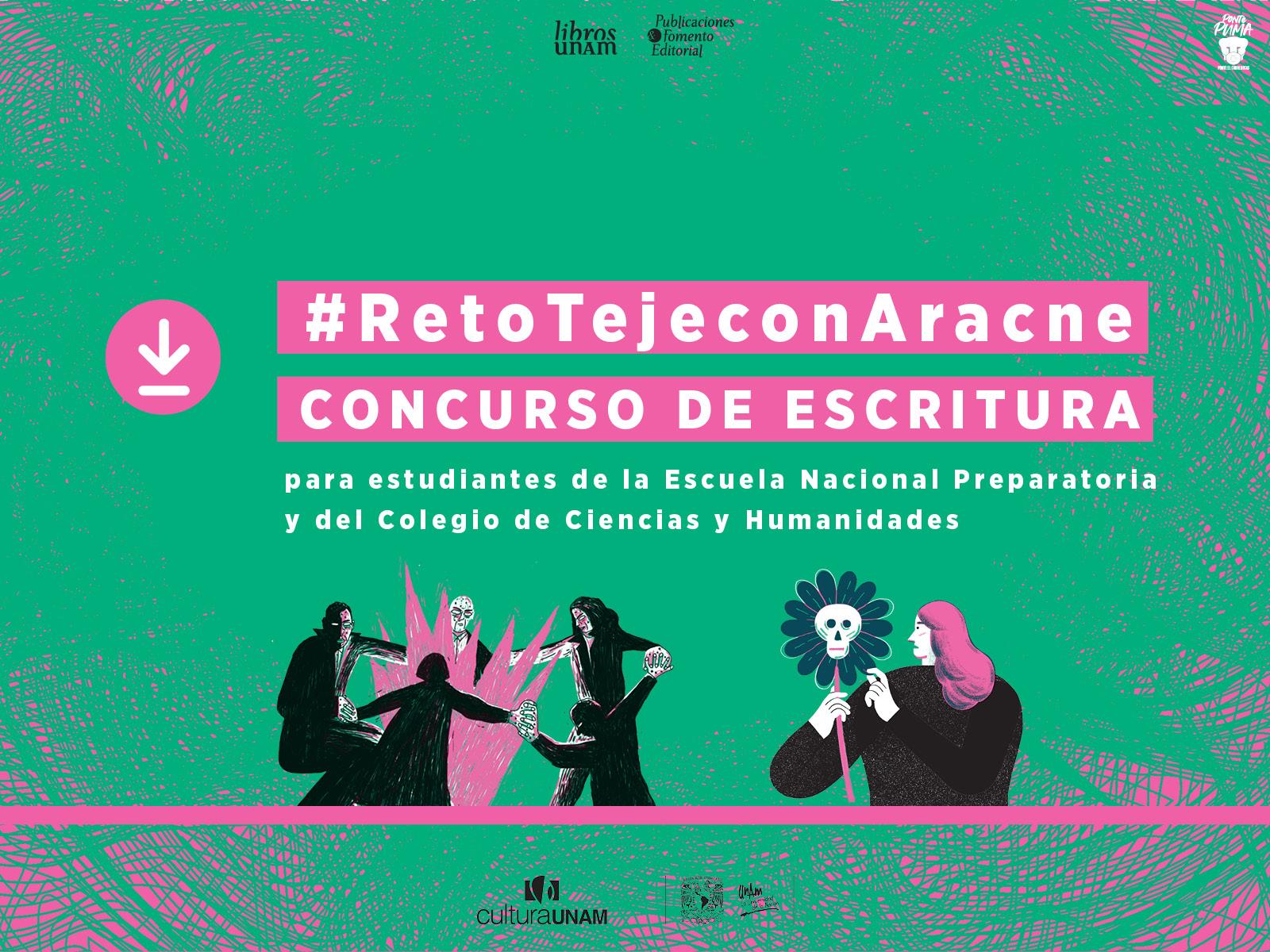 Concurso de escritura, Aracne, Libros UNAM