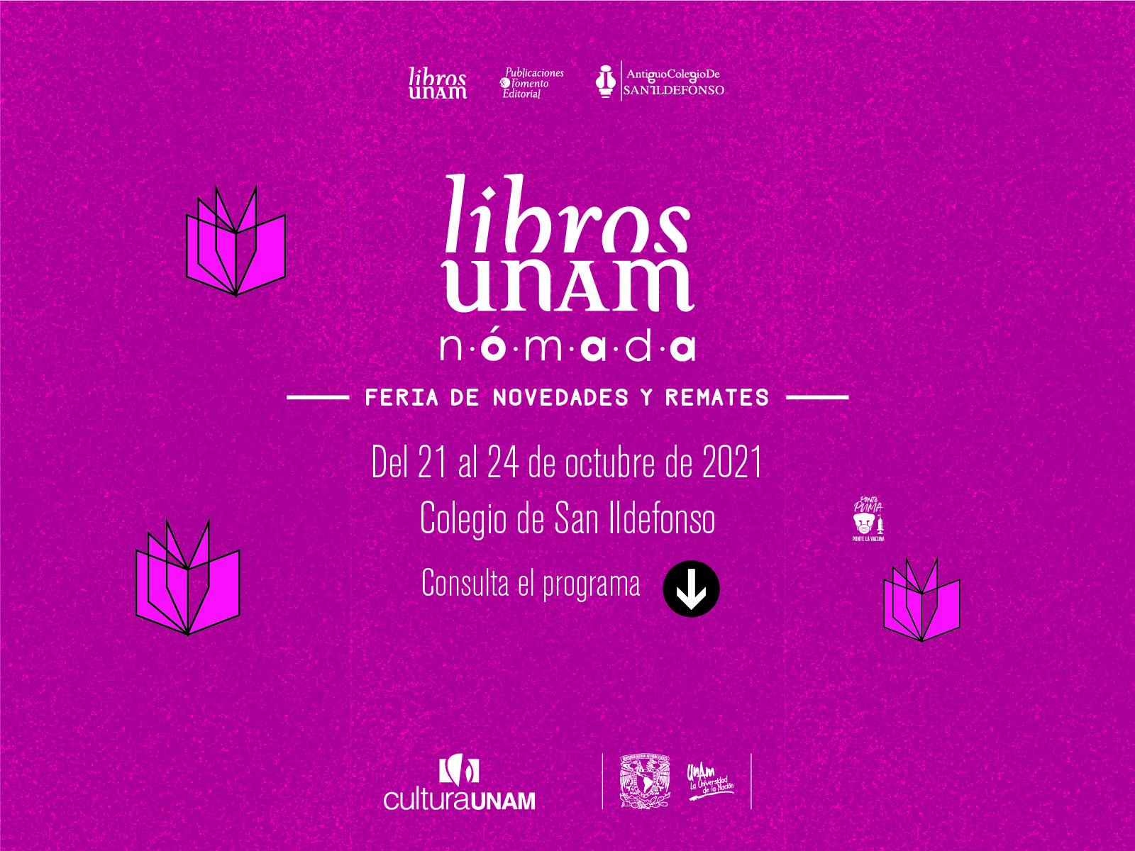 Feria de novedades y remates - N Ó M A D A -  Libros UNAM