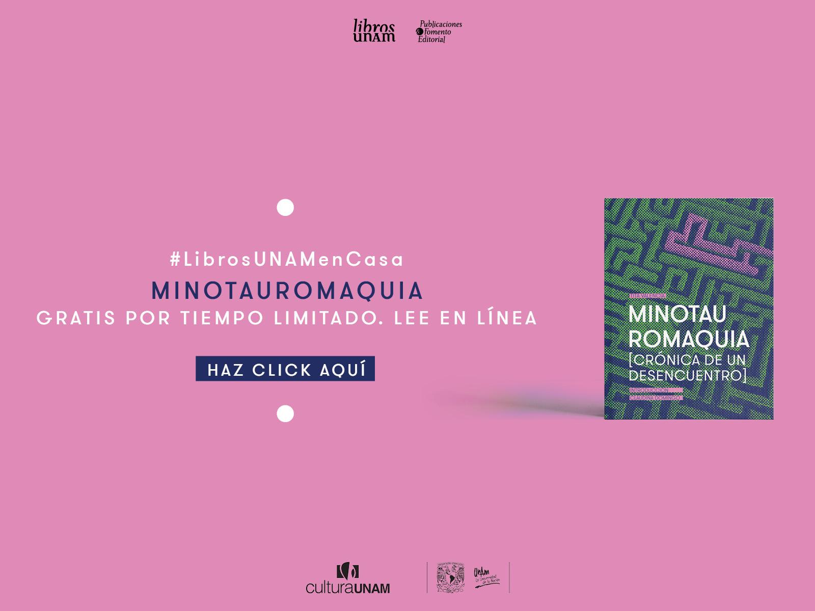 Lecturas temporales Flipbook Vindictas, Minotauromaquia
